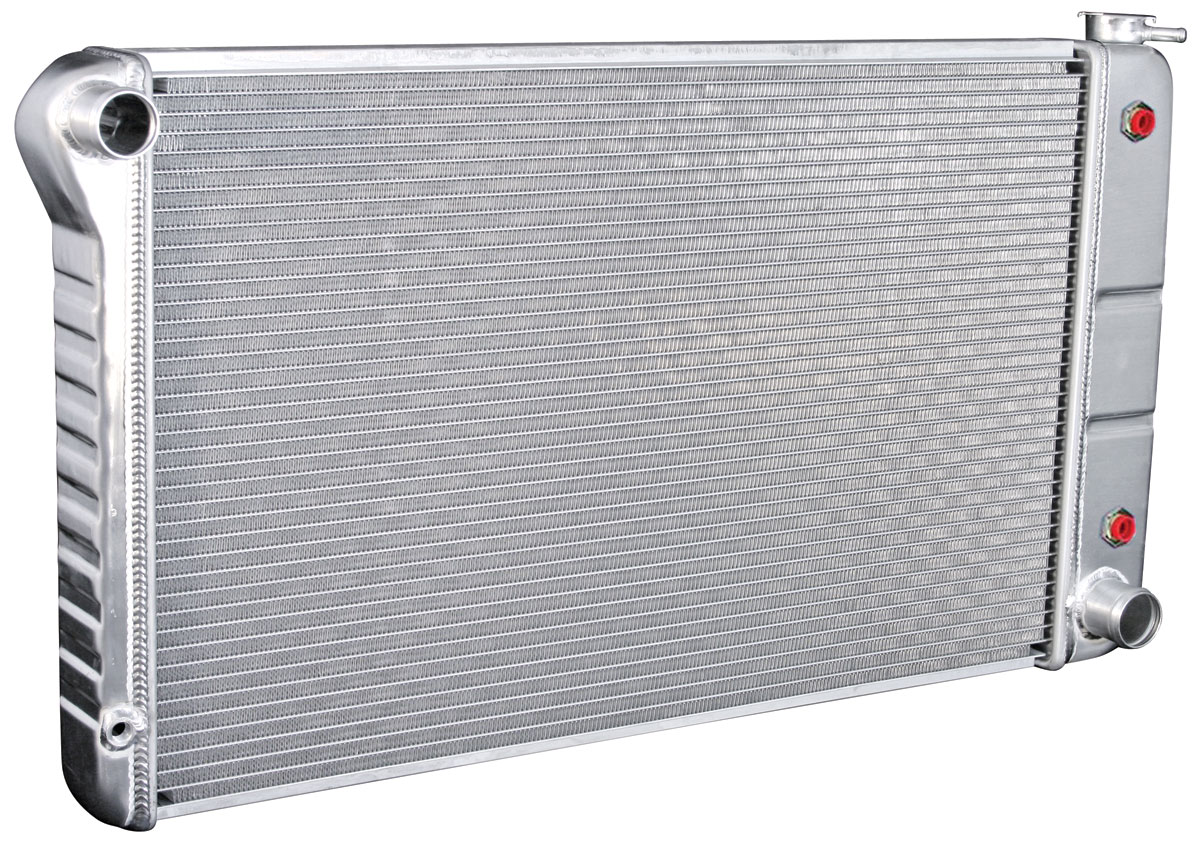 Radiator, Aluminum, DeWitts, 1968-72 Chevelle/El Camino SB/BB, AT