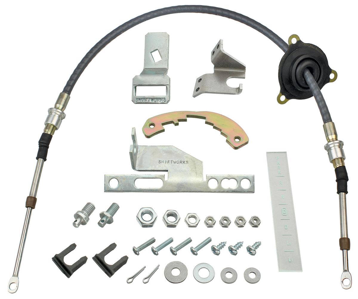 Conversion Kit, Shifter, 1966-67 Chevelle/El Camino, 200-4R/700R4 w/ Cable