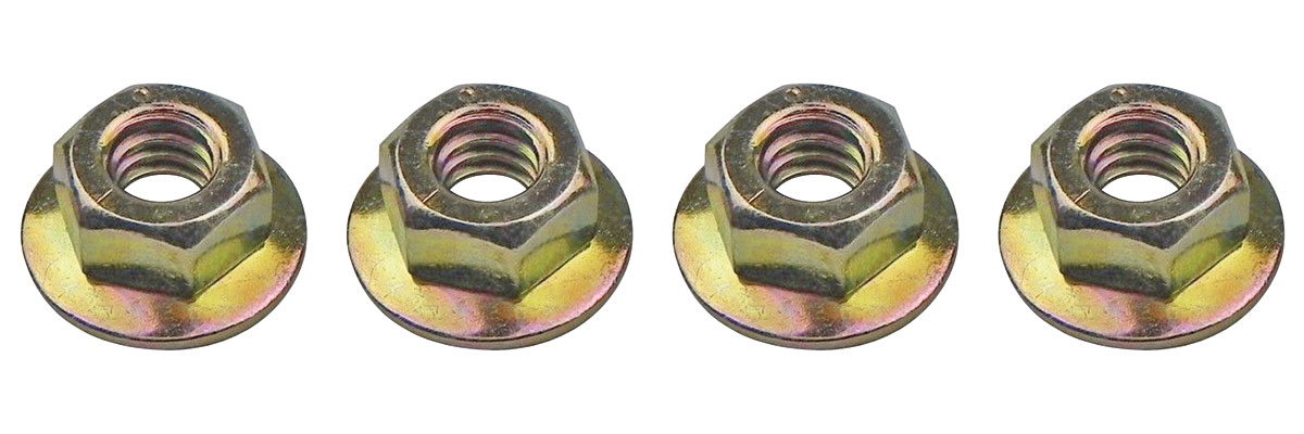 Mounting Nuts, 1970-75 GM All, Door Track to Stop, 1/4
