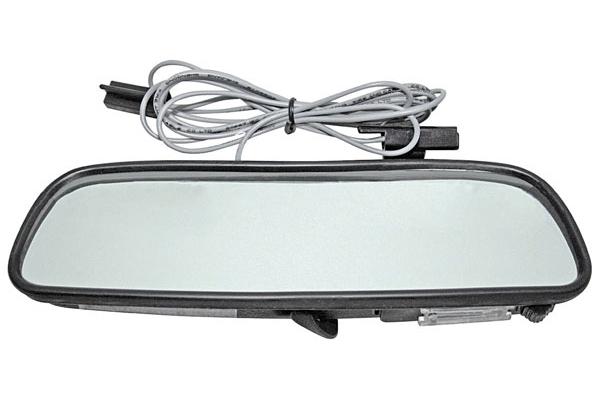 Mirror, inside w/Map Light, 8 inch, 1950-72 GM