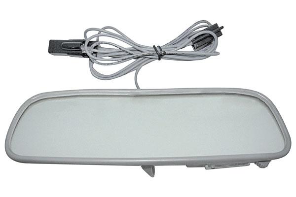 Mirror, inside w/Map Light, 12 inch, 1950-72 GM