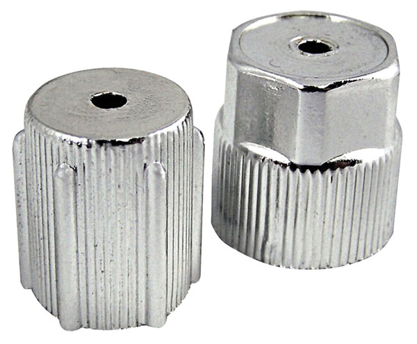 Caps, R134A AC Service Port, Chrome