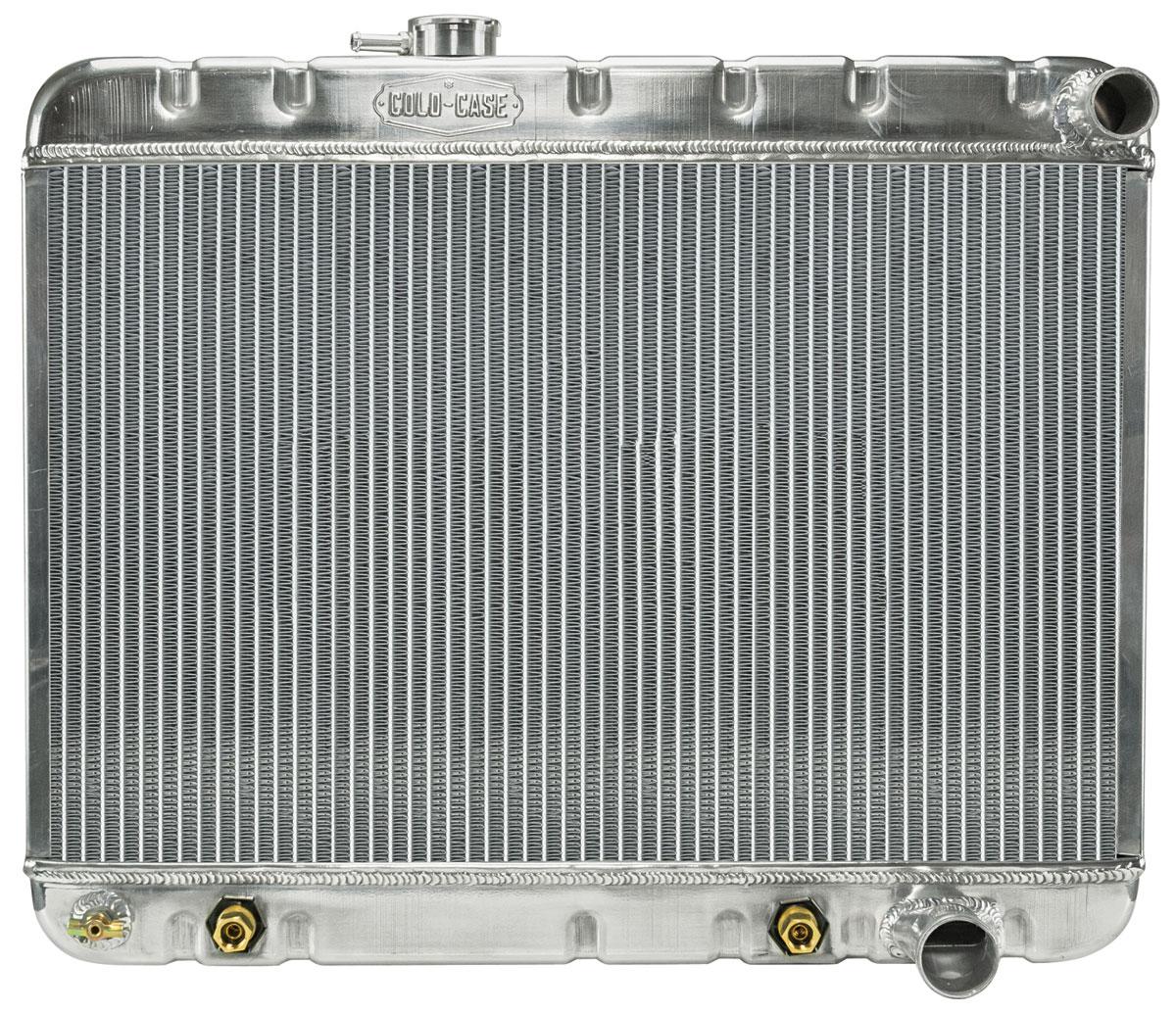Radiator, Aluminum, Cold-Case, 1964-65 GTO, A/C, AT