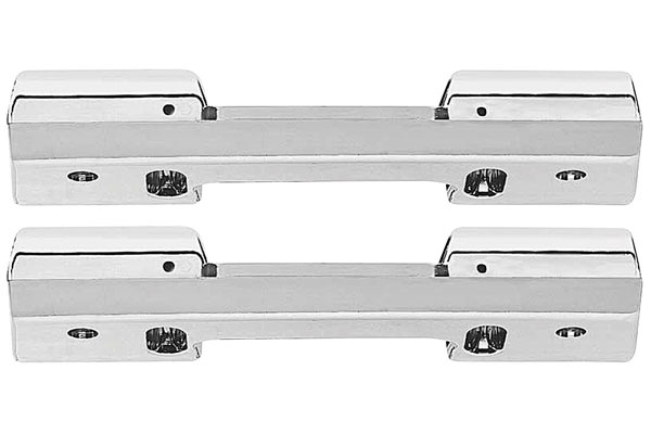Armrest Base, 1965-67 Corvair, Front, Pair