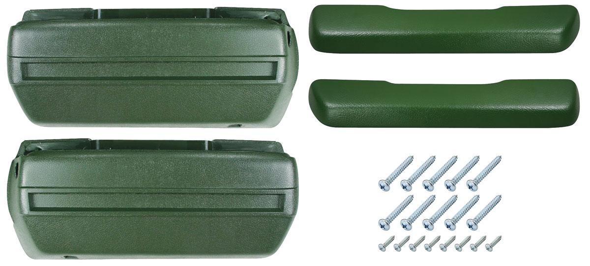 Armrest Base/Pad Kit, Front, 1968-72 A-Body
