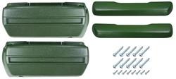 Armrest Base/Pad Kit, Front, 1968-72 A-Body, 1968-70 Catalina