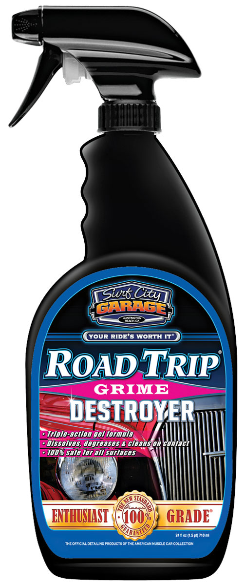 Cleaner, Road Trip, Surf City Garage, 24OZ