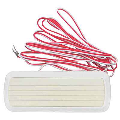 Assembly, Dome Light, 1961-65 Corvair FC, White w/ Wires