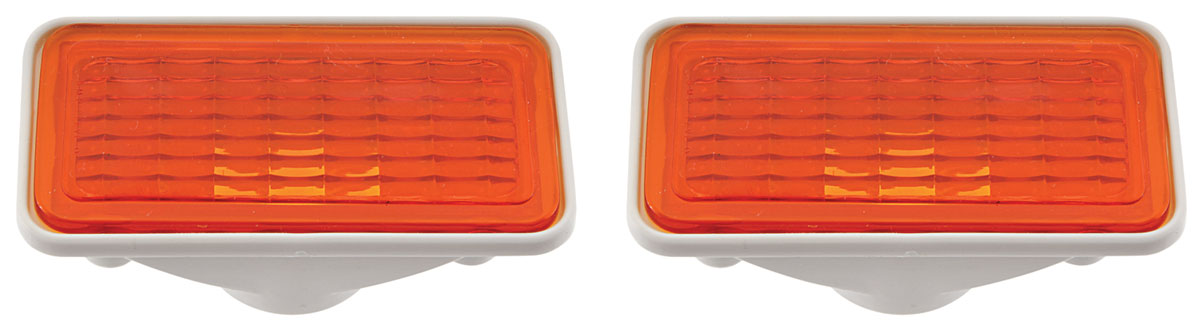 Assembly, Side Marker, 1969 Corvair, Front, Amber