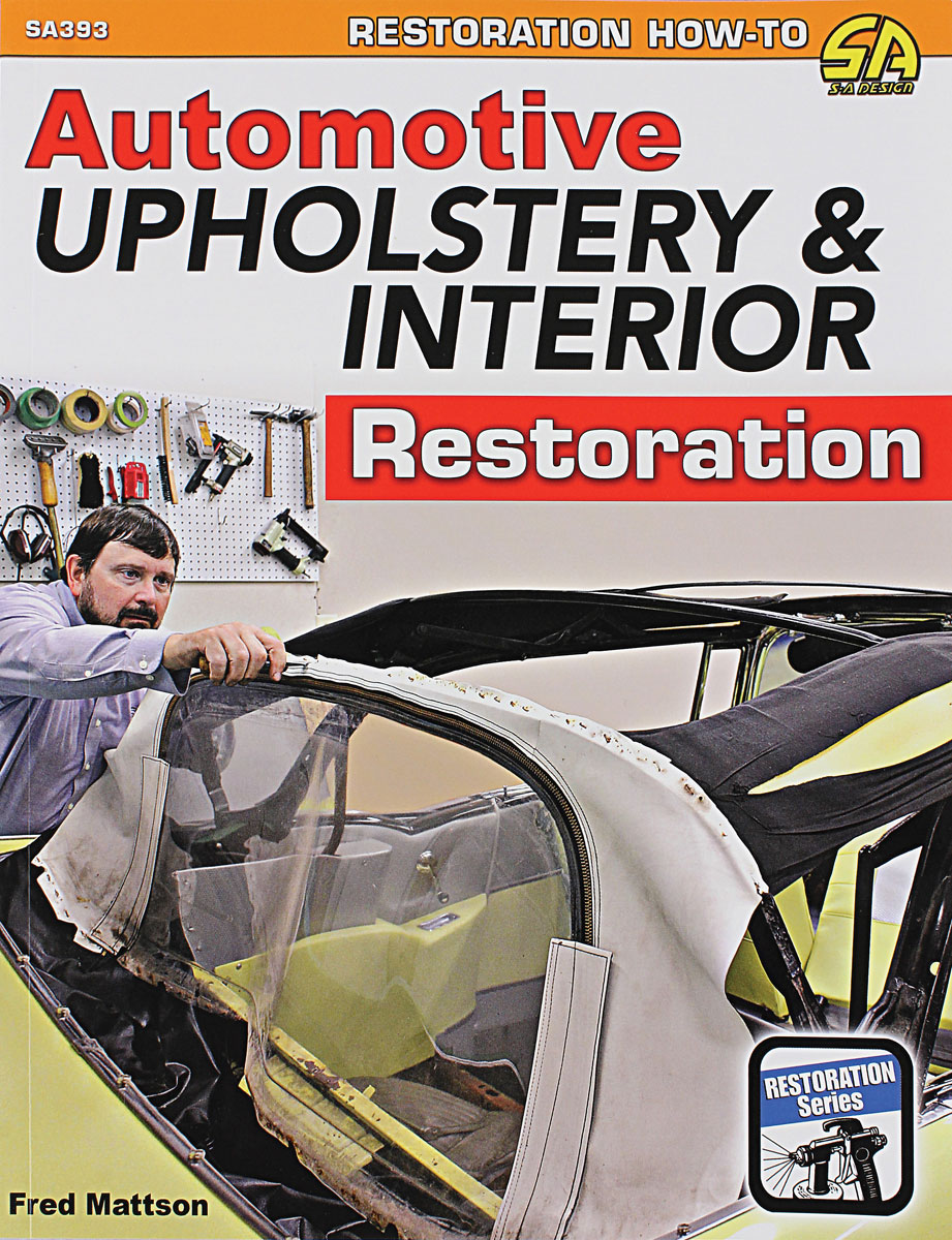 Book, Automotive Upholstery & Interior Restoration