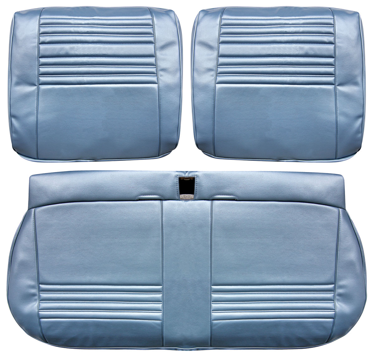 Seat Upholstery, 1967 Chevelle/El Camino/Beaumont, Front Split Bench LEG