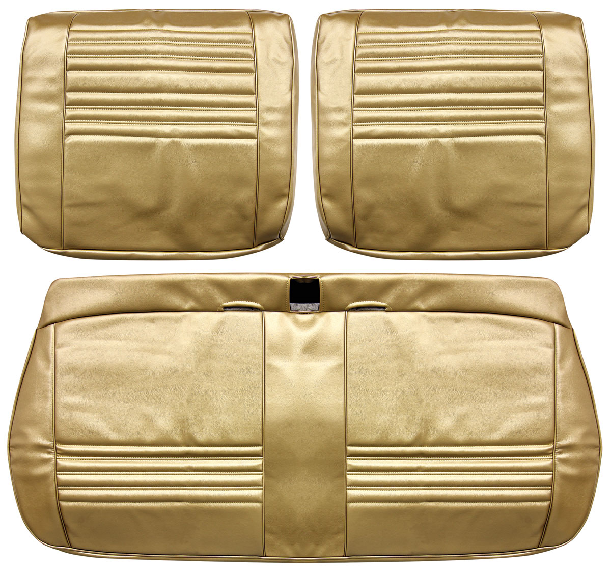 Seat Upholstery, 1967 Chevelle/El Camino/Beaumont, Front Split Bench PUI