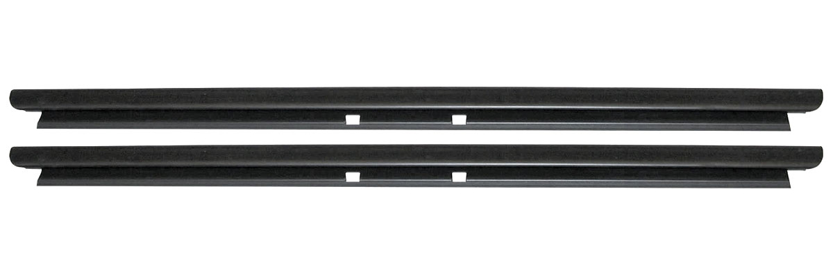 Window Sweep Belt Weatherstrip Front Door Inner LH RH Pair for Cadillac Chevy GM