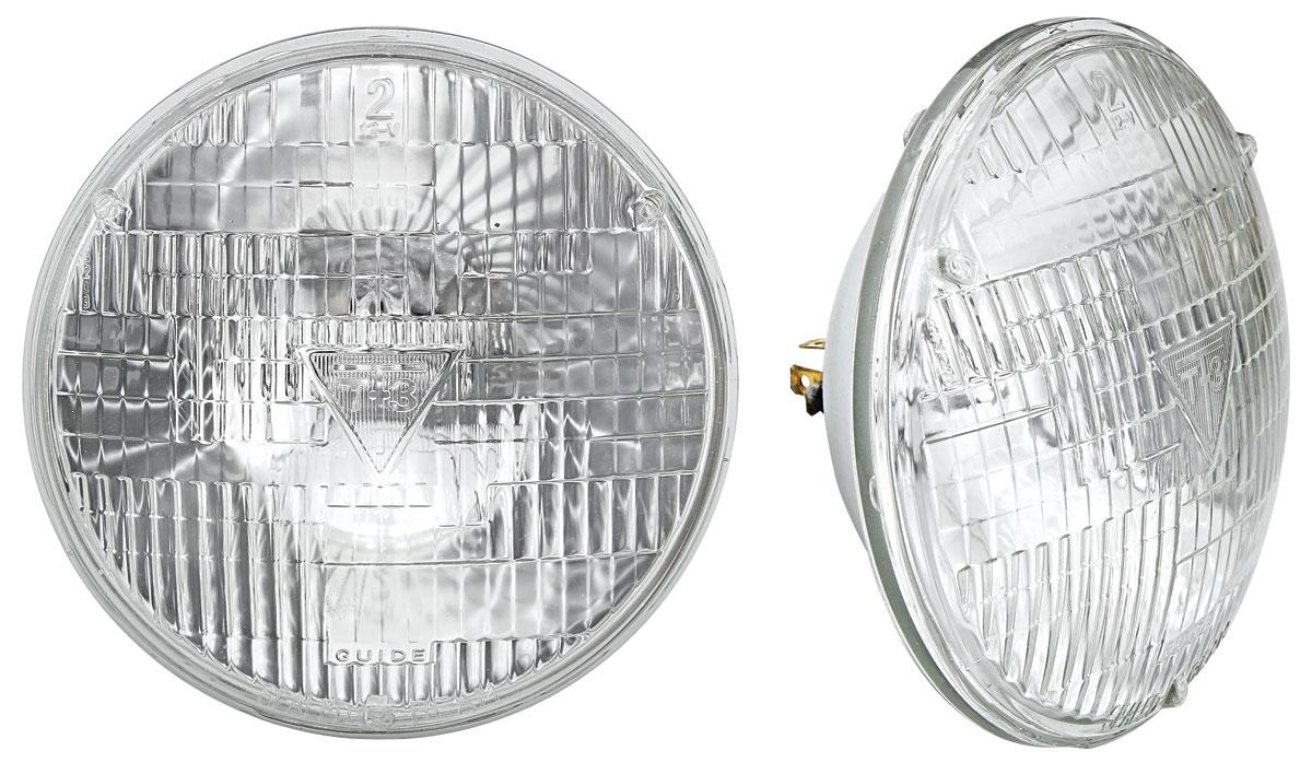 Headlamp, 1954-57 Cadillac/1971-77 GM, 7