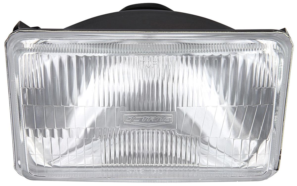 Headlight, 55/60 Watt H4, 4