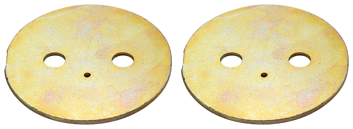 Throttle Plate, 1966 Center Carb, Tri-Power, PR