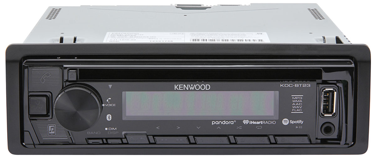 Stereo/CD, Kenwood, Deluxe In-Dash, 1986-88 G-Body