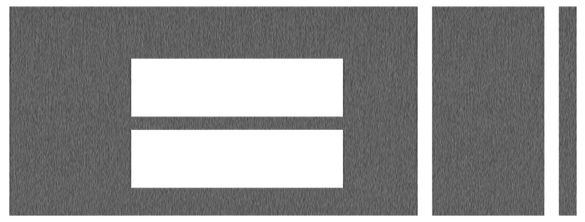 Console Applique, 1984-87 Regal, 3-Piece