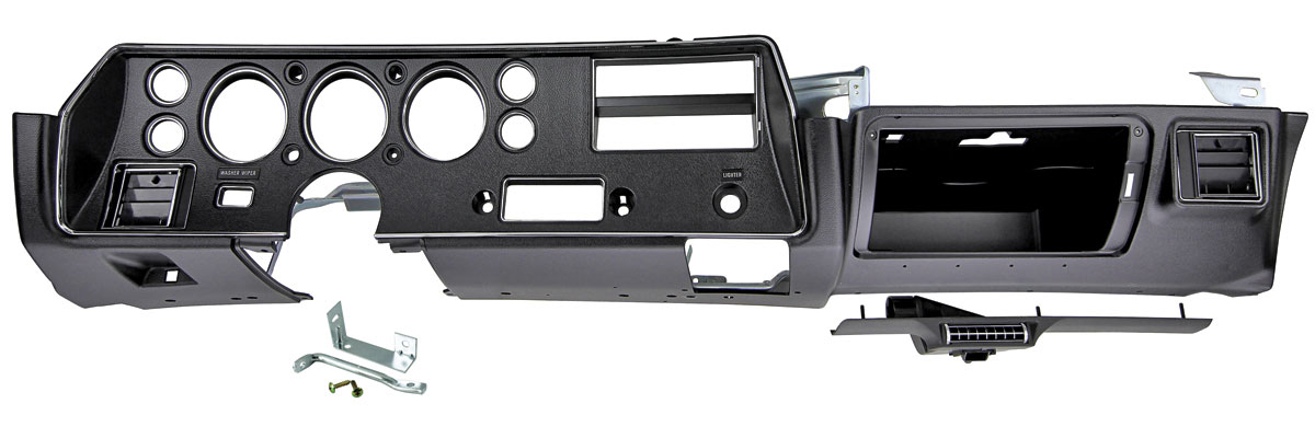 Dash Housing Assembly, 1970-72 SS Chevelle/El Camino/Monte Carlo