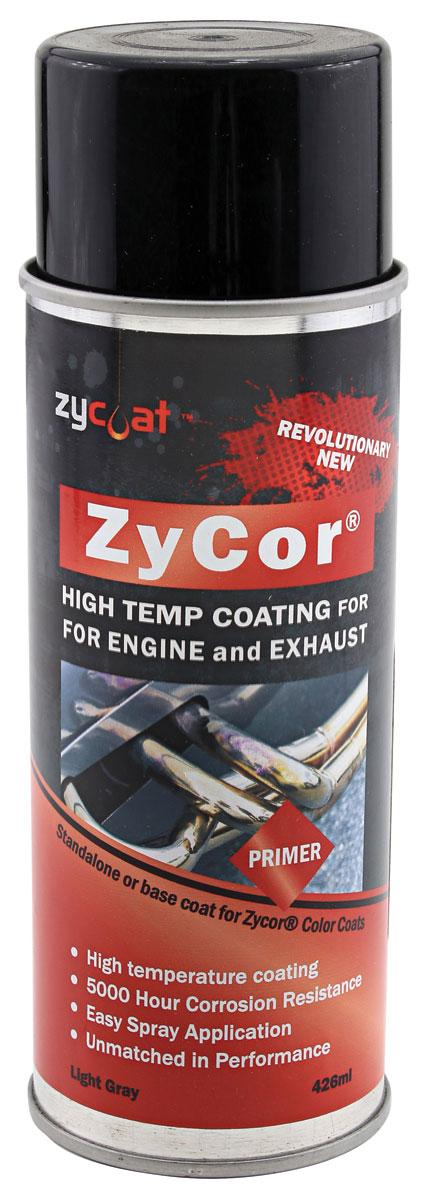 Paint, ZyCor High Temp, Primer/Base Coat Spray,13oz Aerosol Spray
