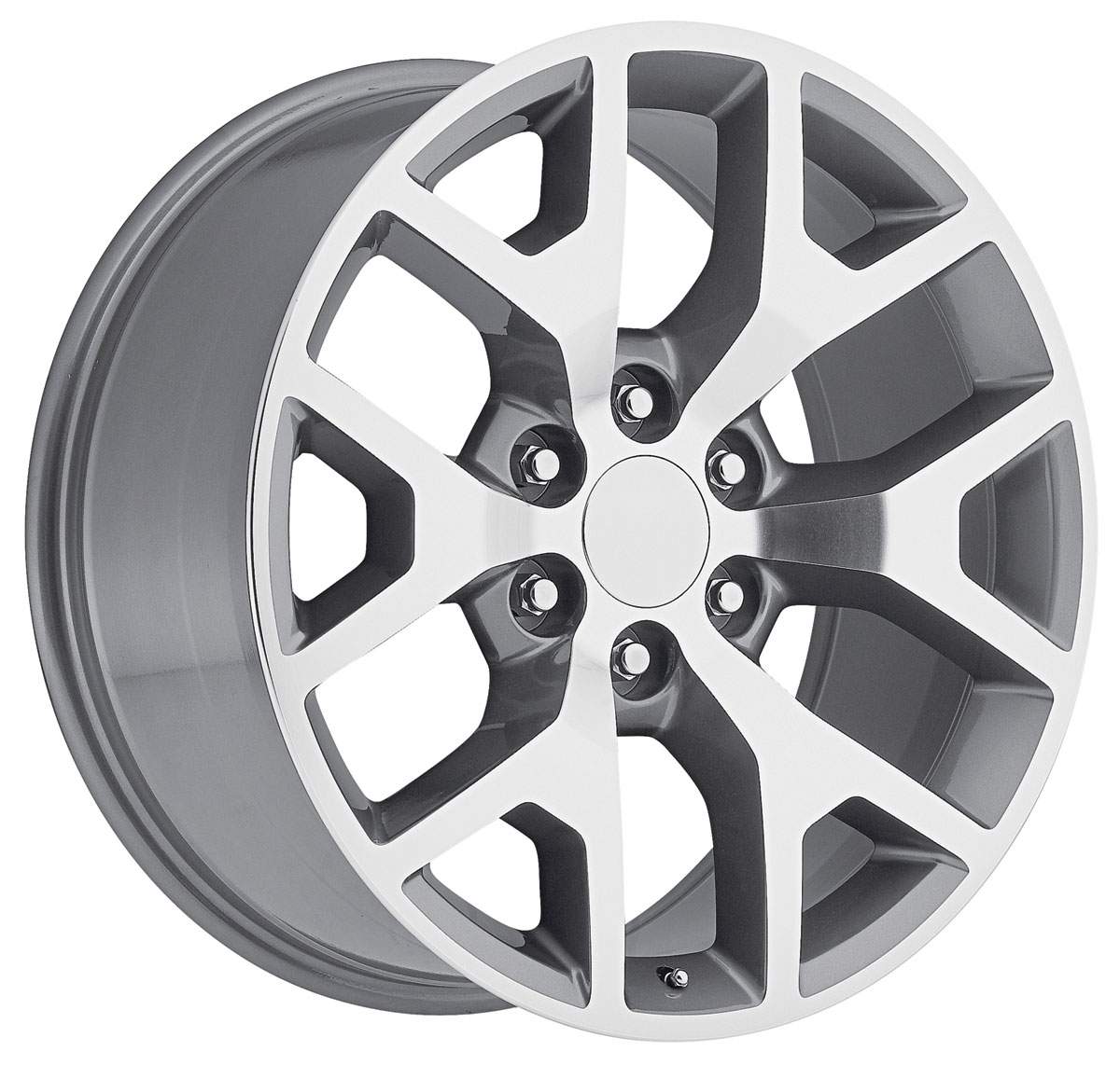 Wheel, Factory Reproduction, Escalade, SRS 44, 24X10 6X5.5 +31 HB 78.1