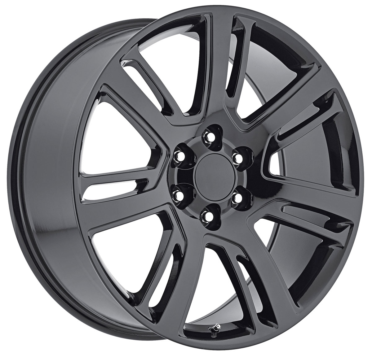 Wheel, Factory Reproduction, Escalade, SRS 48, 22X9 6X5.5 +31 HB 78.1