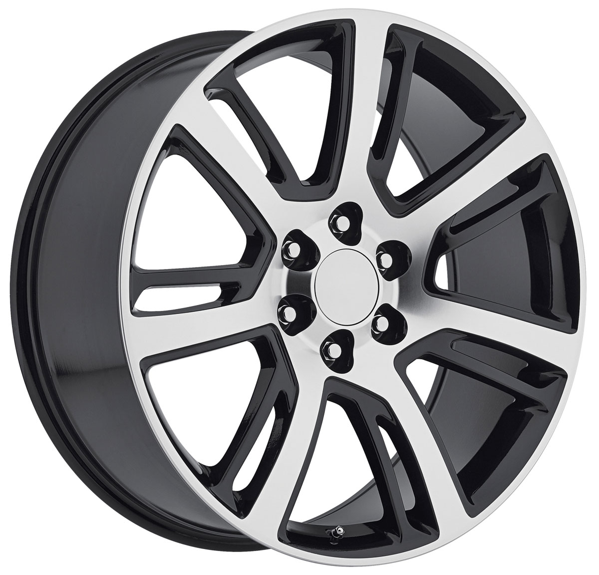 Wheel, Factory Reproduction, Escalade, SRS 48, 24X10 6X5.5 +31 HB 78.1