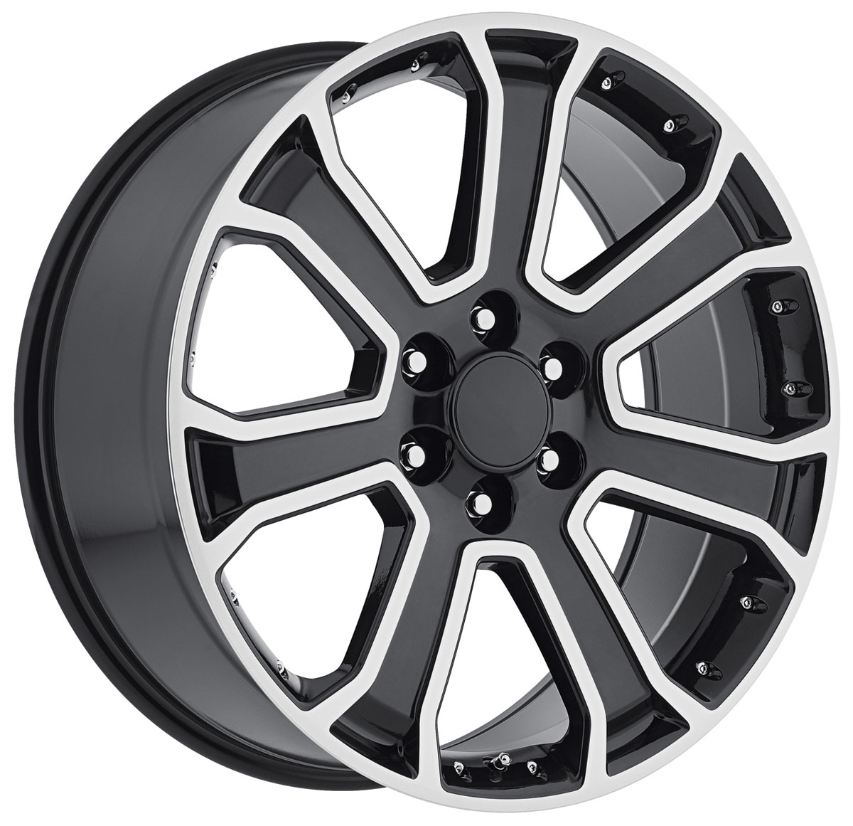 Wheel, Factory Reproduction, Escalade, SRS 49, 22X9 6X5.5 +31 HB 78.1