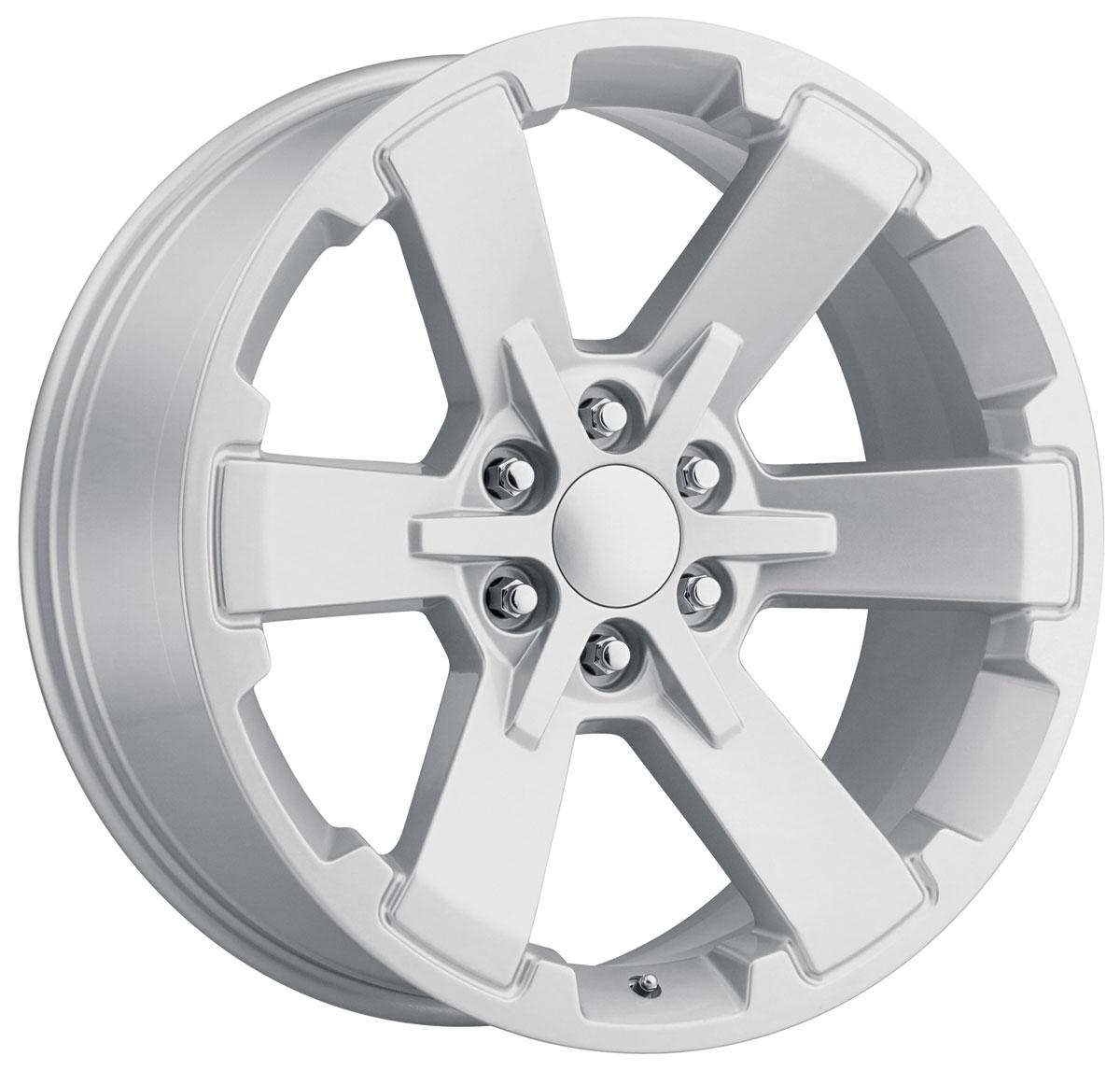 Wheel, Factory Reproduction, Dual Six Star, SRS 45, 22X9 6X5.5 +24 HB 78.1