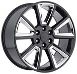 Wheel, Factory Reproduction, Escalade, SRS 57, 22X9 6X5.5 +30 HB 78.1