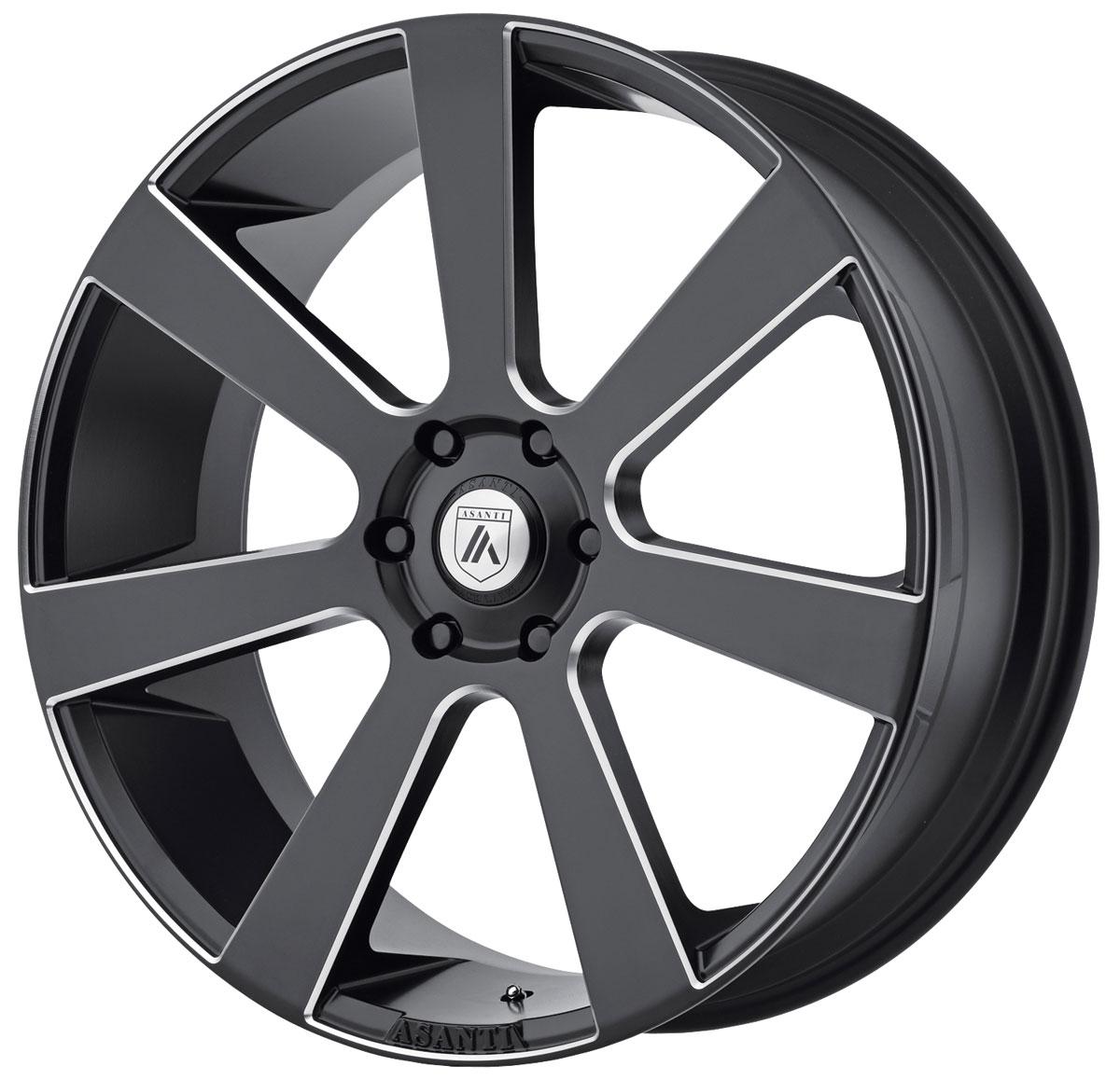 Wheel, Asanti Black Label, ABL-15 Apollo, 1999-2019 Escalade, 22X9