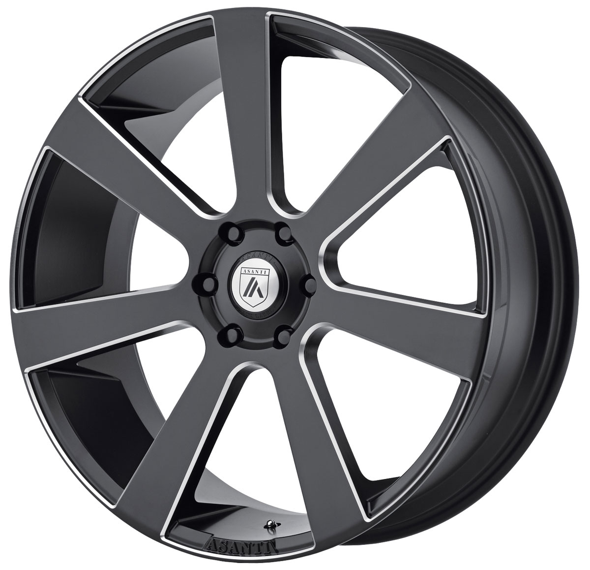 Wheel, Asanti Black Label, ABL-15 Apollo, 1999-2019 Escalade, 24X9