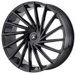 Wheel, Asanti Black Label, ABL-18 Matar, 1999-2019 Escalade, 20X8.5