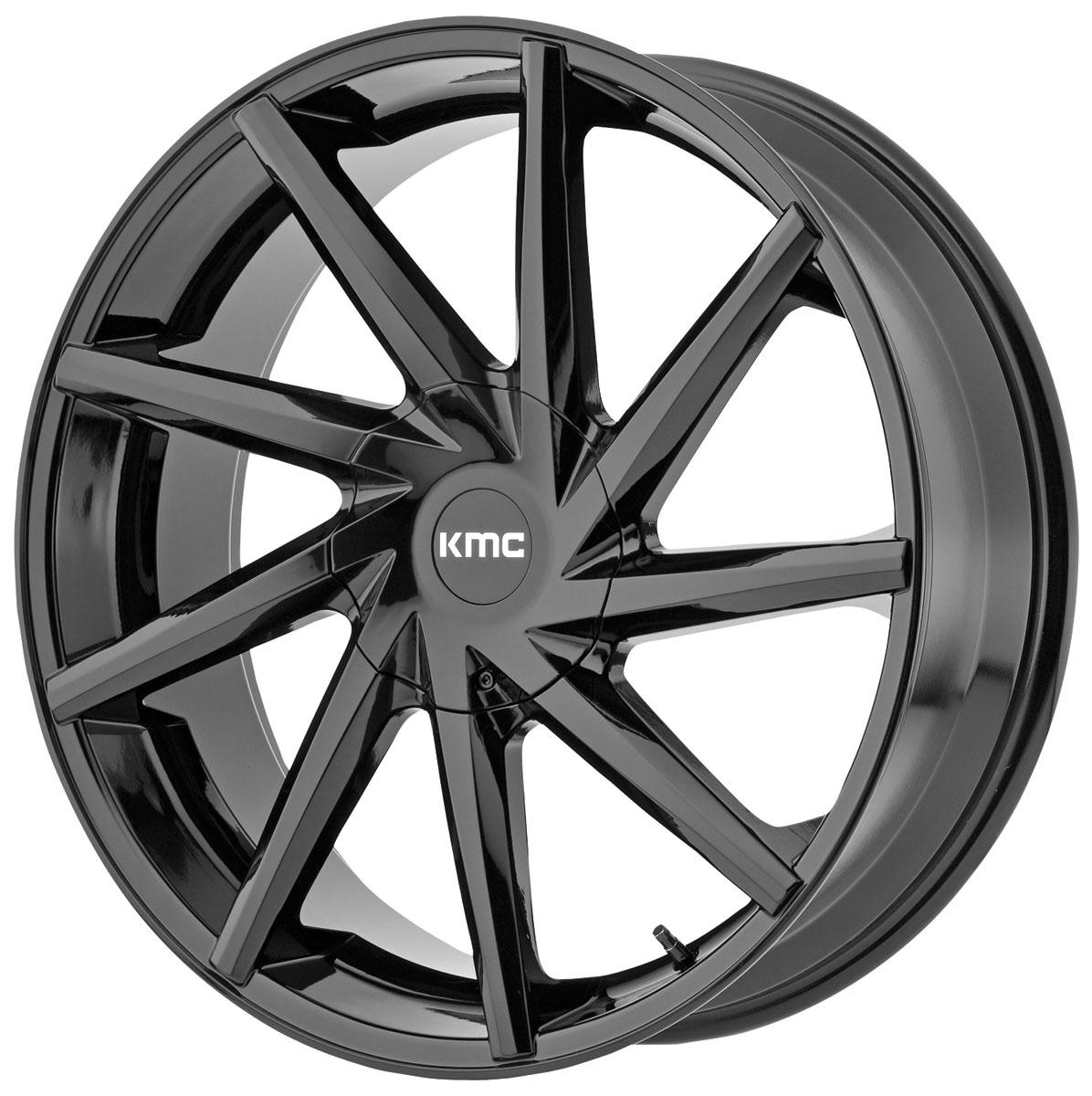 Wheel, KMC, Burst, 1999-2019 Escalade, 24X9.5