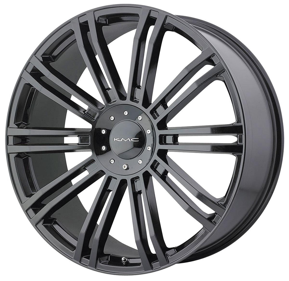 Wheel, KMC, KM677 D2, 1999-2019 Escalade, 24X9.5
