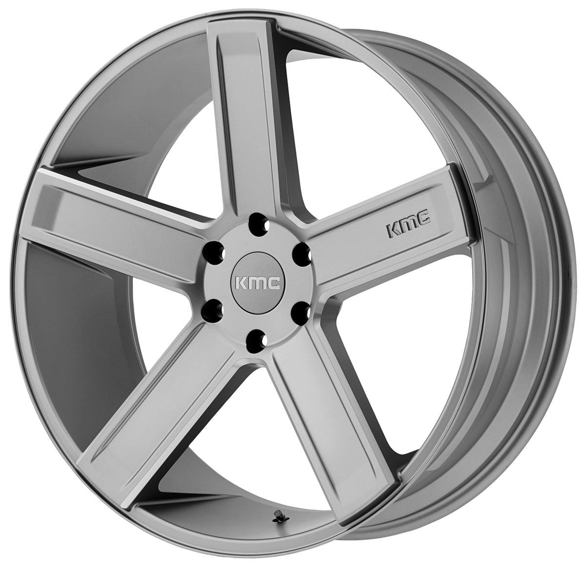 Wheel, KMC, KM702 DUECE, 1999-2019 Escalade, 22X9