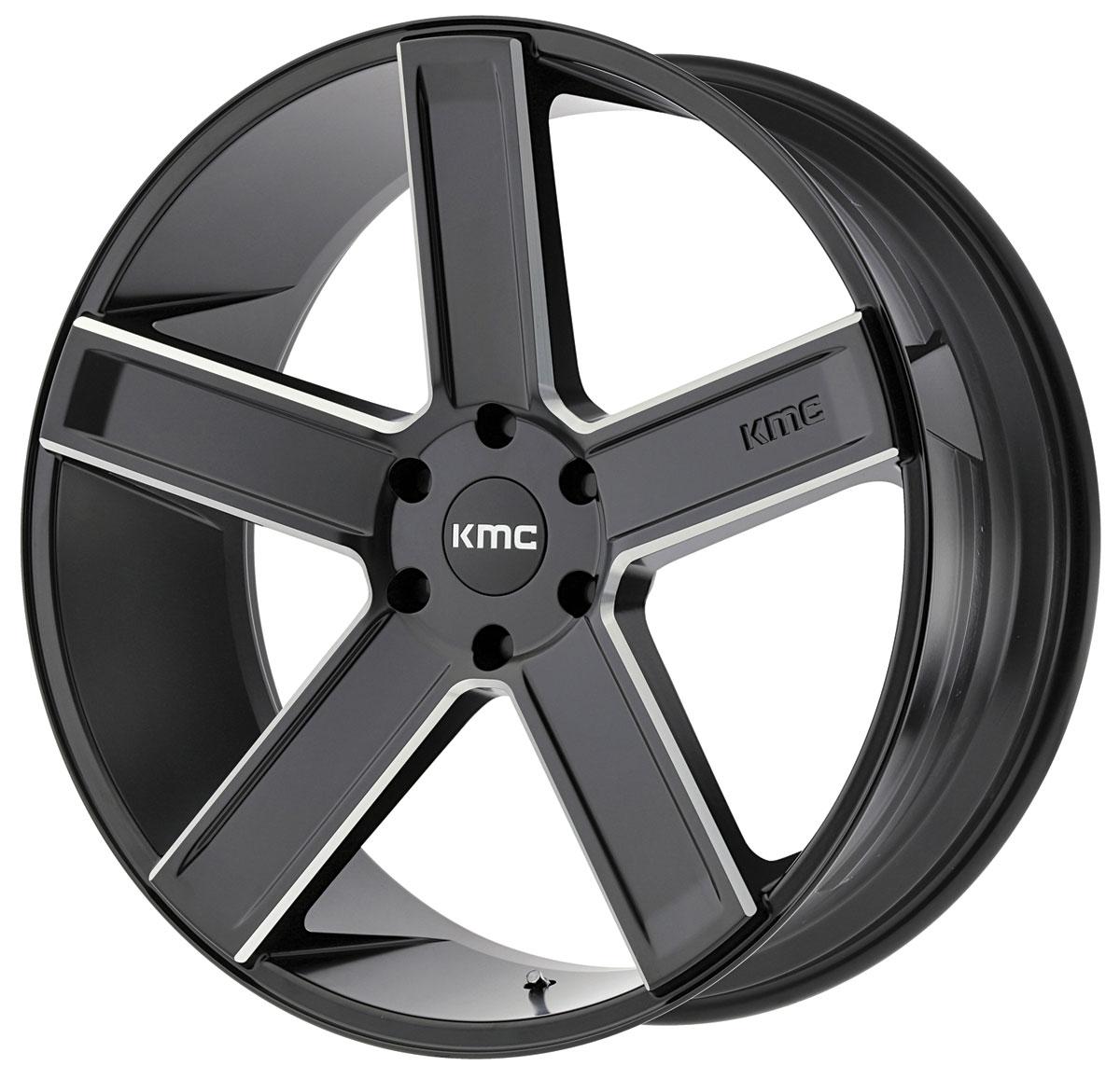 Wheel, KMC, KM702 DUECE, 1999-2019 Escalade, 20X8.5