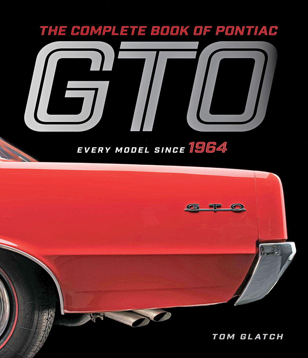 Book, The Complete Book of Pontiac GTO