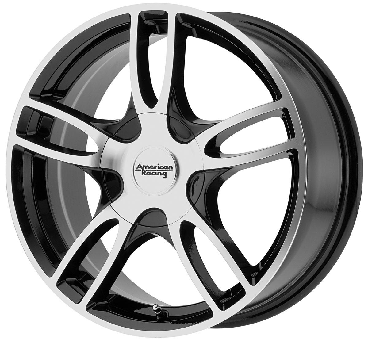 Wheel, American Racing, AR919 Estrella 2, 2003-2019 CAD, 17x7.5