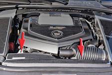 Cover, Radiator, 2006-15 CTS-V, Carbon Fiber w/Stainless Trim