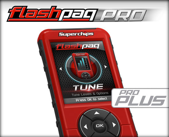 Programmer, Superchips, F5 Flashpaq Pro PLUS, Custom Tuner w/Loaded Tunes