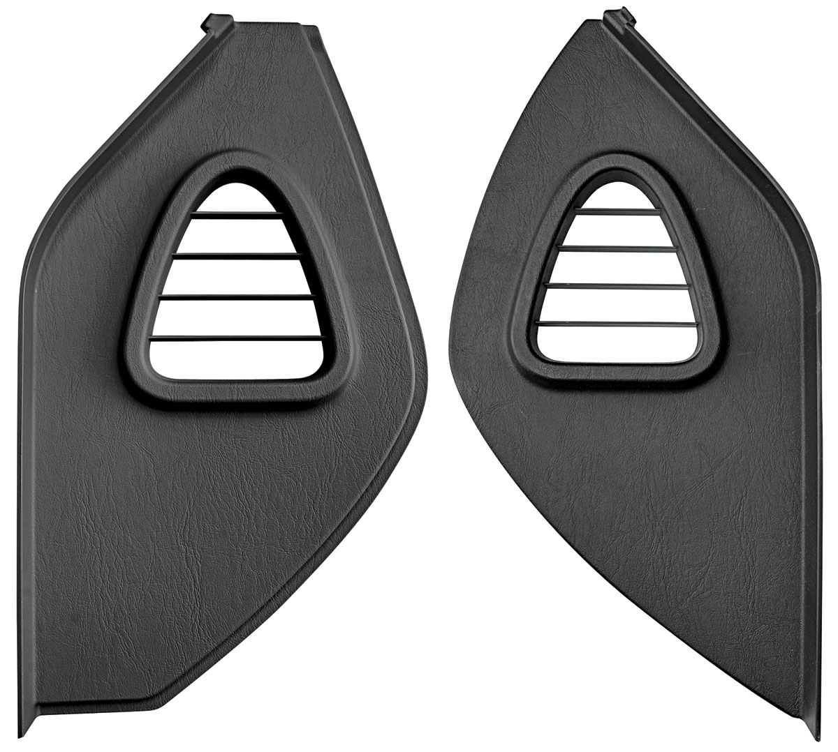 Cover, Dash Pad Side, 2004-09 XLR, Ebony, Pair