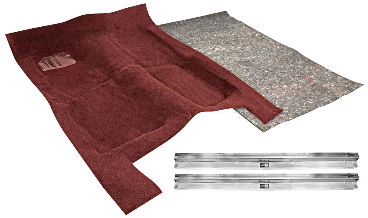 "Carpet Kit, Cutpile, 1978-87 GM ""G"" Body, Auto, w/Deadener/Sill Plates"