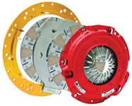 Clutch Assembly, McLeod RXT 1200 Twin Ceramic Disc, 6 Bolt Crank, 1200HP
