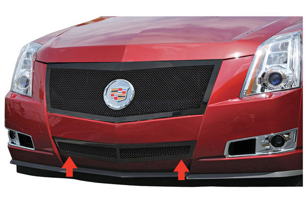 Grille Replacement, Mesh Bumper Center, 2008-13 CTS Coupe/Sport/Wagon