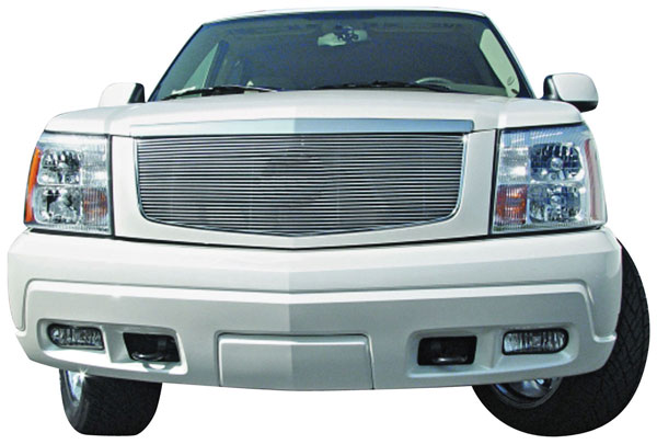 Grille Insert, Horizontal Billet, 2002-06 Escalade/EXT/ESV exc. Hybrid/Platinum