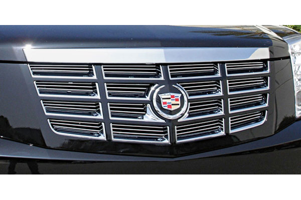 Grille Inserts, Billet, 2007-14 Escalade/EXT/ESV, Replaces OE Mesh