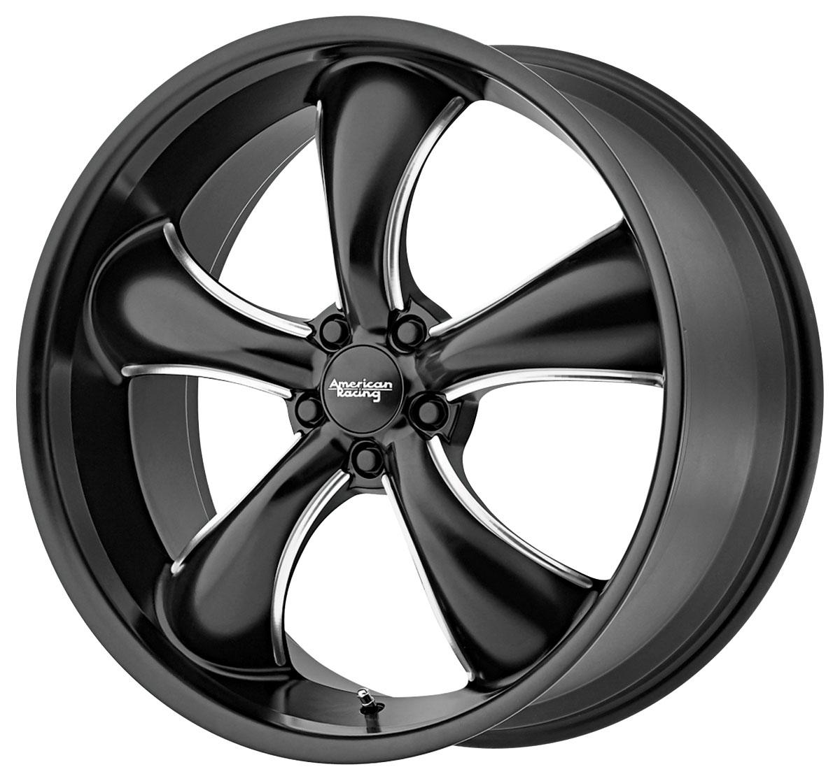 Wheel, American Racing, TT60, 2016-19 CTS/CTS-V, 22x9