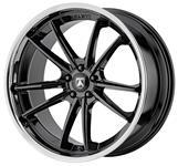 Wheel, Asanti Black, DELTA, 2016-19 CTS/CTS-V, 22x9