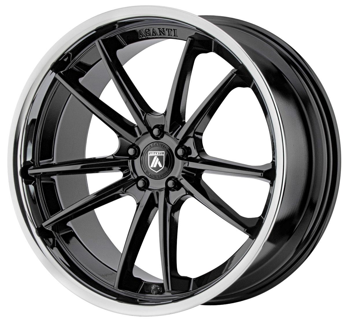 Wheel, Asanti Black, DELTA, 2009-19 CTS/CTS-V, 20x9
